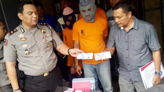 Polisi Bekuk Komplotan Pengedar Uang Palsu Rp 50 Juta di Medan