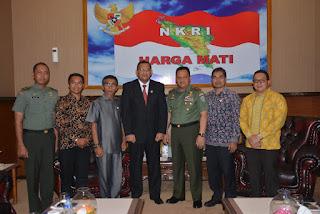 Pangdam Iskandar Muda Terima Audiensi dari IKAL RI Propinsi Aceh