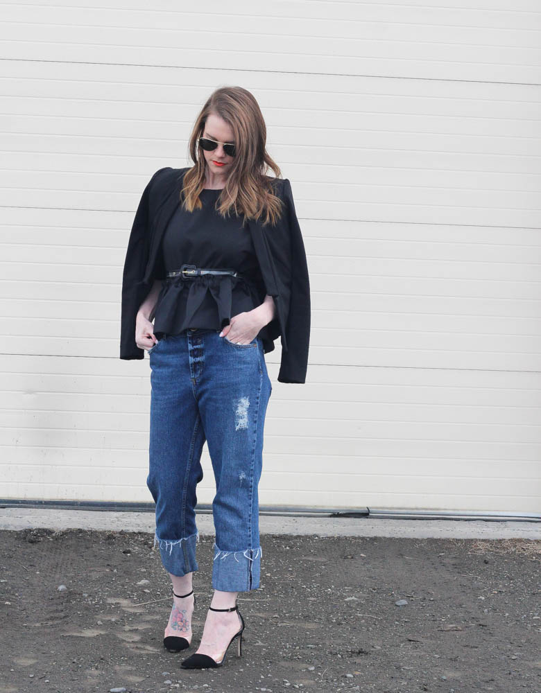 Cropped Flares- Street Style