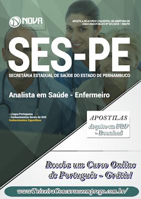 Apostila da SES-PE PDF - Enfermeiro (Download)