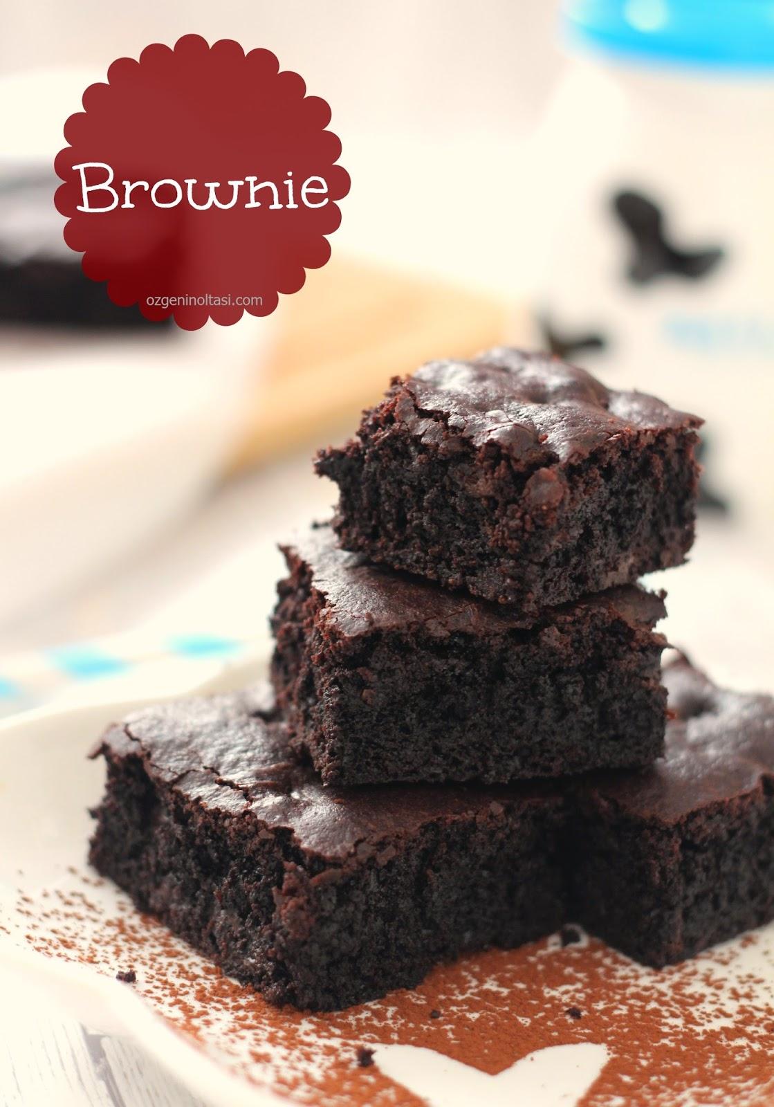 Çift çikolatalı browni tarifi