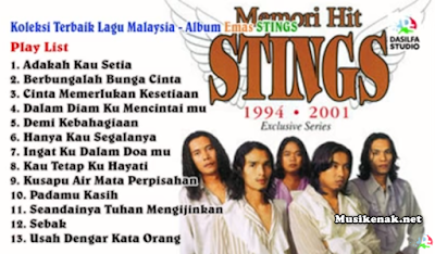 Koleksi Lagu Terbaik Stings Malaysia Full Album Mp3 Lama Paling Populer