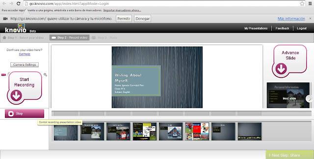 Knovio, 5 website Terbaik untuk Membuat Presentasi Video Online