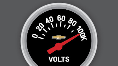 Chevrolet Announces the Sale of 100,000 Volts