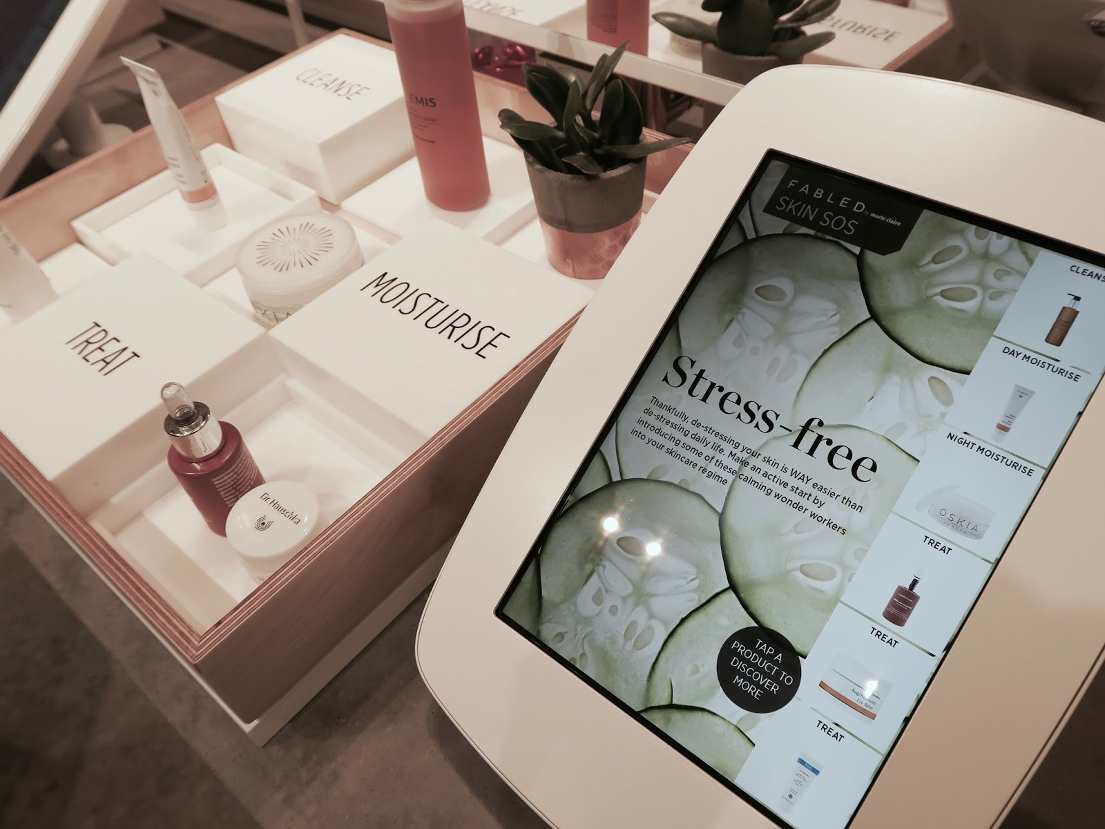 Touch screen advice Fabled by Marie Claire