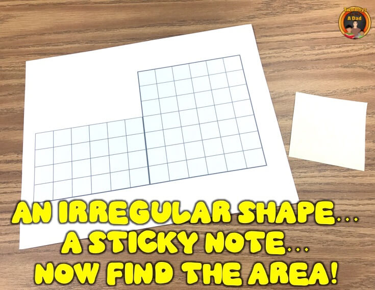 Find the area of this irregular shape