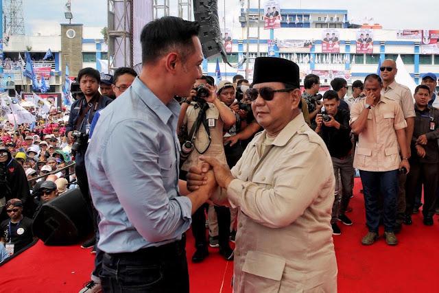 Kampanye di Solo, Prabowo Bakal Duet Bareng AHY