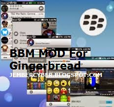 BBM MOD For Gingerbread