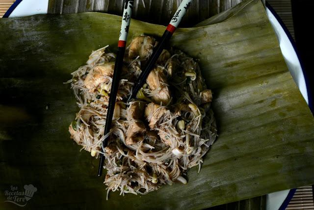 Pad Thai con pollo 04