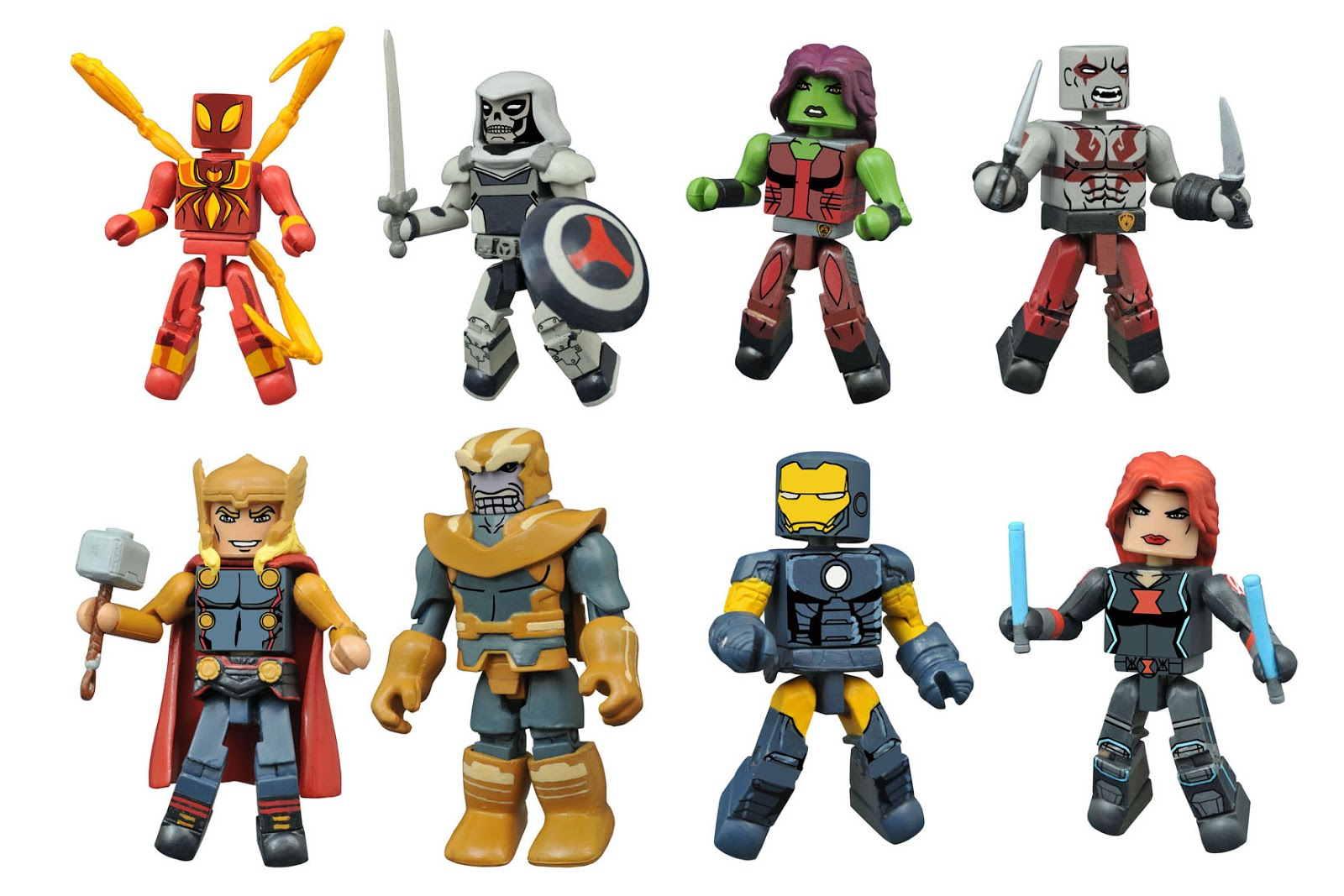 pretty nice 2dd6b f35ee The Marvel Animated Universe is expanding at Walgreens! With Series 1.5 of  Marvel Animated Minimates in stores this holiday season, Diamond Select  Toys is ...