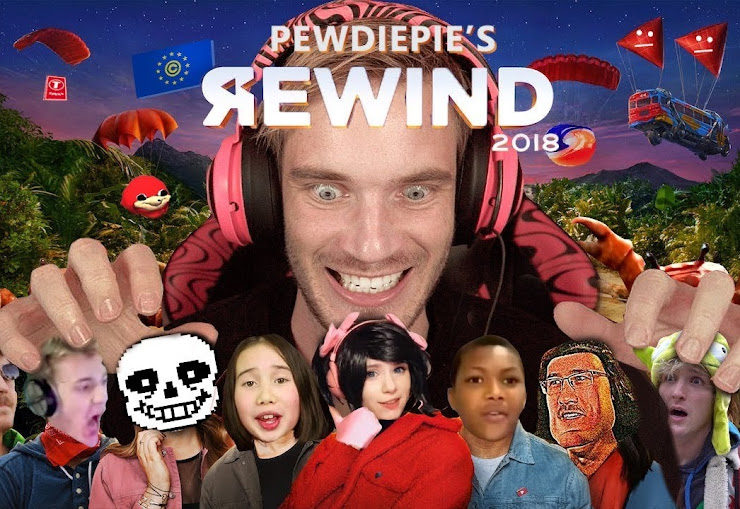 Sorry YouTube, PewDiePie's 2018 rewind version received more likes than your video