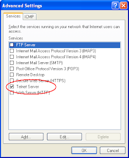 Enable telnet server in Windows