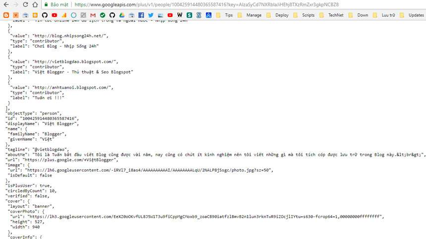 Hướng dẫn tạo banner Google+ kết hợp thống kê Blog đầu trang