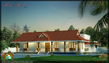 Kerala Style House With Nadumuttam - Architecture