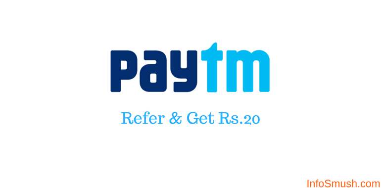 refer friends to paytm