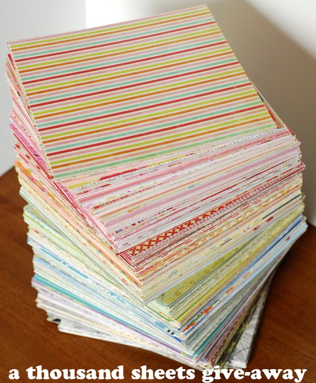 A thousand sheets of paper 1000 sheets for A thousand sheets again
