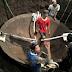 Wajan Raksasa Banyak Ditemukan Di Jawa Tengah, Ini Salah Satu Penampakanya