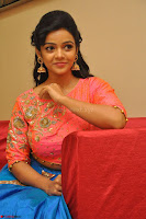 Nithya Shetty in Orange Choli at Kalamandir Foundation 7th anniversary Celebrations ~  Actress Galleries 119.JPG