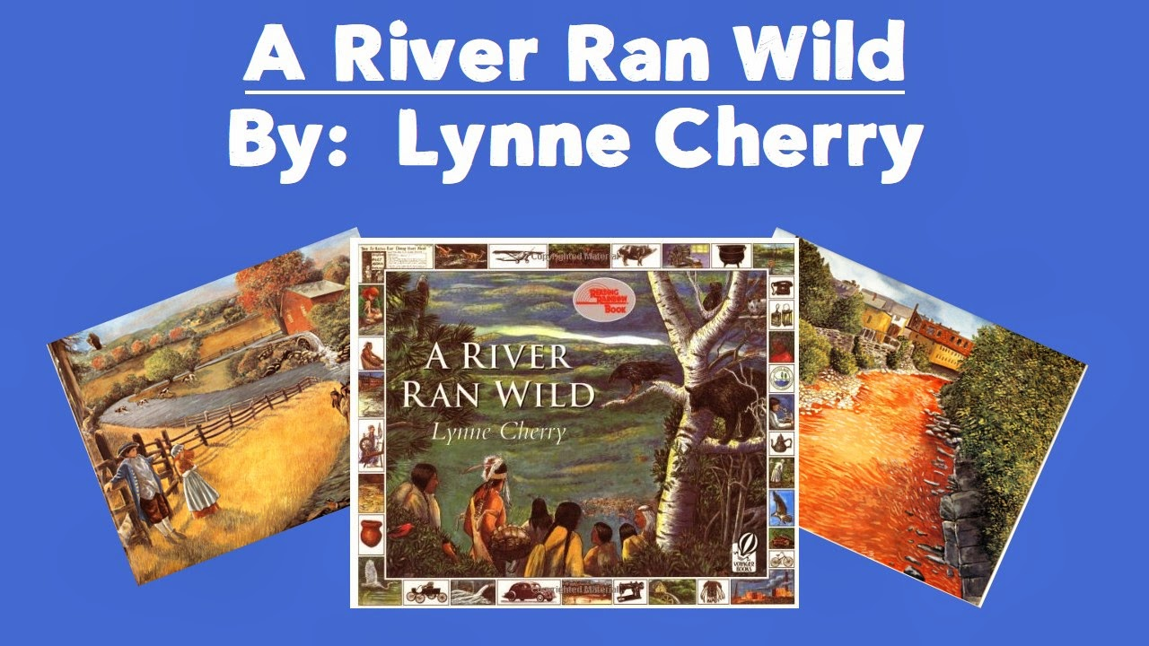 A River Ran Wild is a descriptive book by author, Lynne Cherry. This mentor text works well for modeling word choice, author's craft, and imagery. Check out this post to learn more.