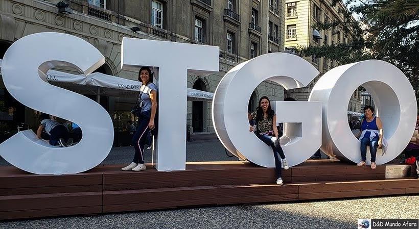 Letreiro de Santiago - o que fazer em Santiago