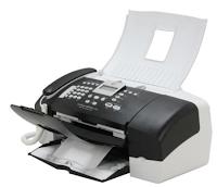 Darüber hinaus können Sie mit HP Officejet J3680 Anrufe tätigen und mühelos schwarze und farbige Dokumente drucken.