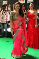 Sridevi Vijaykumar in Sinduri Red Saree at IIFA Utsavam Awards 2017  Day 2  Exclusive 21.JPG