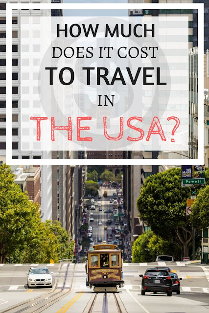 Advice on how much it costs to travel in the USA, with a focus on road tripping, and containing advice for saving money on food, accommodation, sight-seeing and car rental!