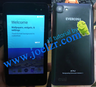 evercoss a74j bootloop