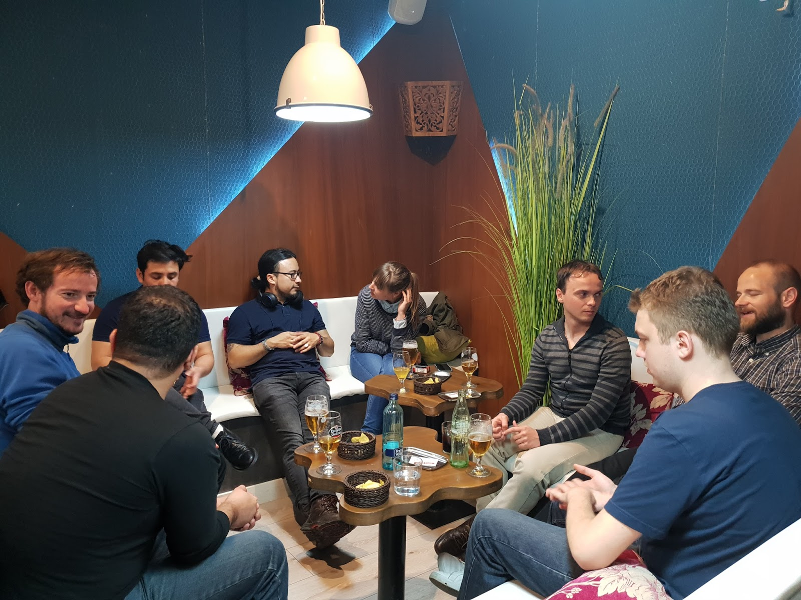 language exchange group in barcelona