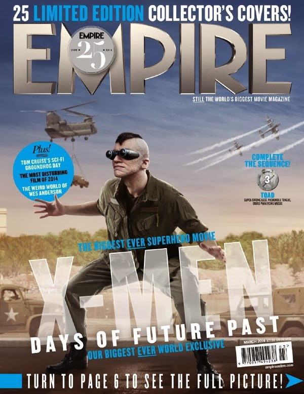 Empire covers X-Men: Days of Future Past: Sapo