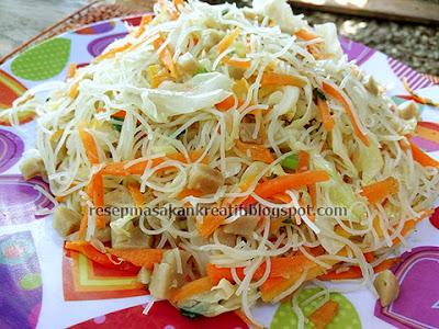 resep tumis bihun putih sayur kol dan wortel berikut ini merupakan variasi sederhana deng RESEP TUMIS BIHUN GORENG PUTIH WORTEL