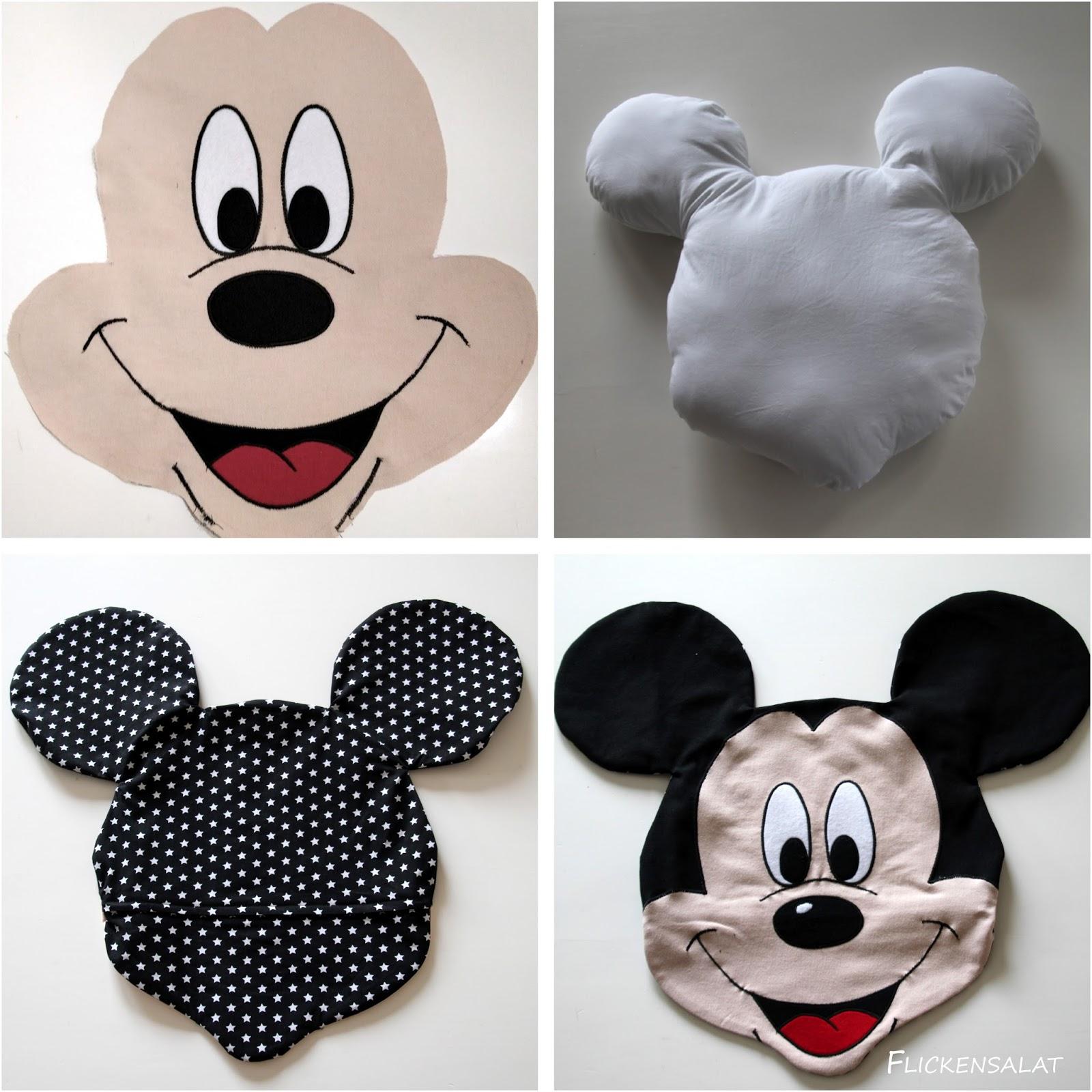 Flickensalat: Ein Micky Maus Kissen für den Enkelprinzen
