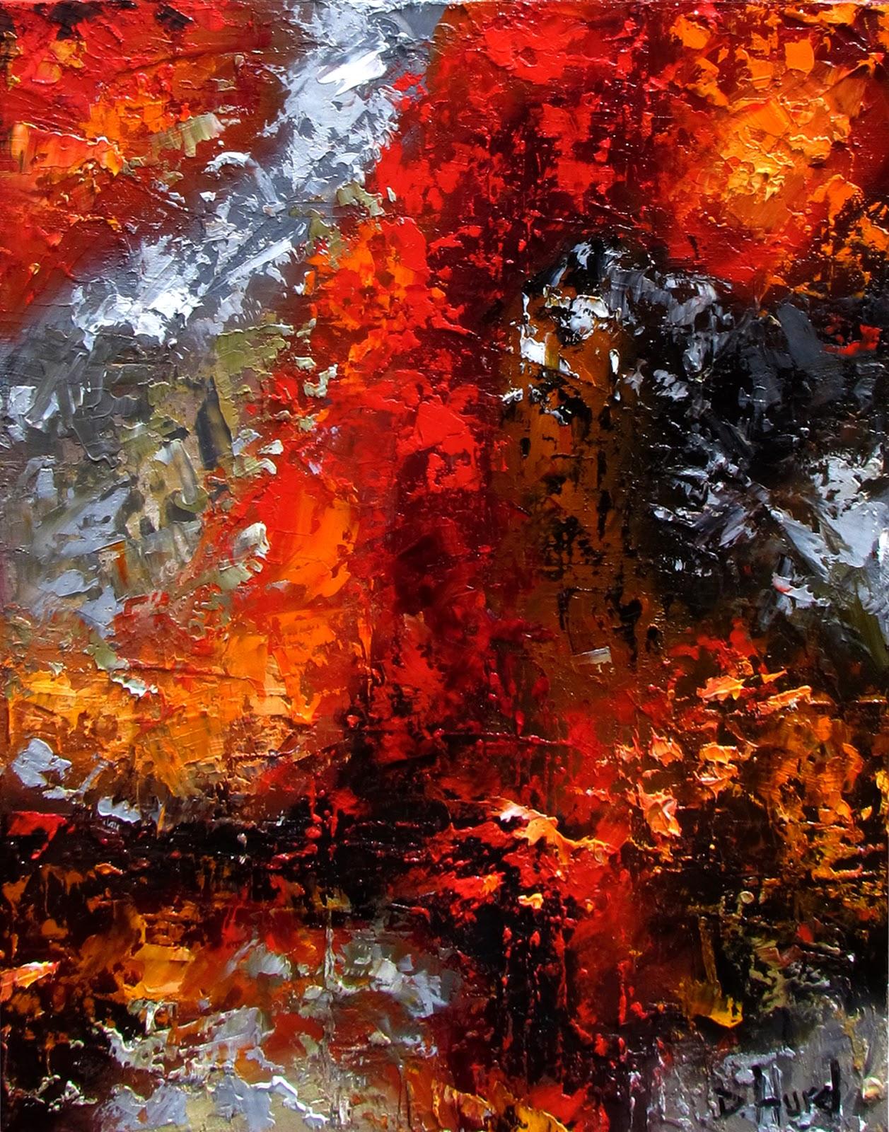 Debra Hurd Original Paintings AND Jazz Art: Abstract