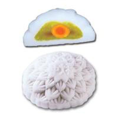 Bánh trung thu Bibica - Dẻo hạt sen trà xanh 1 trứng