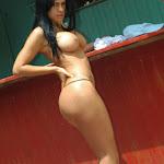 Andrea Rincon, Selena Spice Galeria 33: Gorra Azul, Cachetero Azul Foto 103