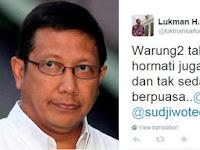 Hormati Orang Yang Tidak Berpuasa, PKS Minta Menteri Agama Minta Maaf