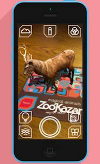Download Aplikasi Augmented Reality Android ZooKazam APK