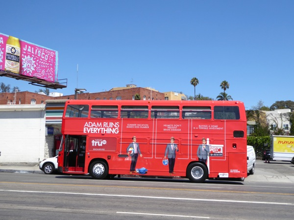 Adam Ruins Everything season 2 bus ad