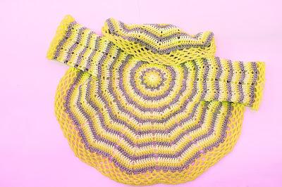 8-Imagen abrigo redondo a crochet y ganchillo. Majovel Crochet