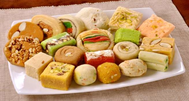 Diwali Faral Courier