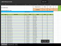 Aplikasi Hitung Umur Siswa Format Excel