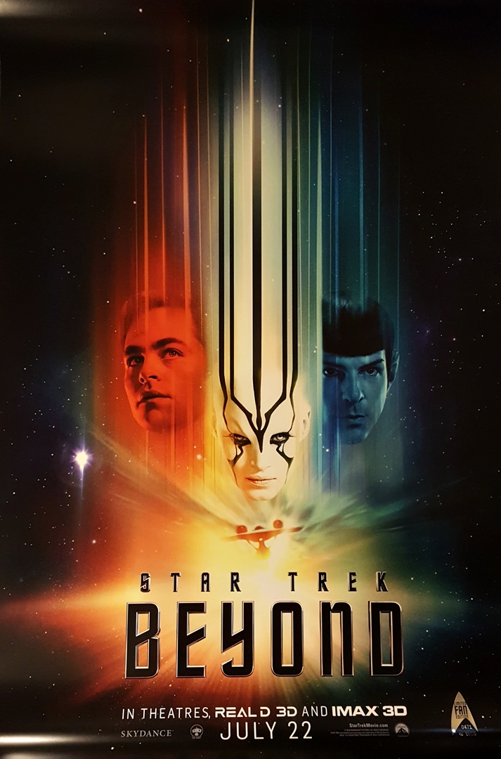 Póster. Star Trek Beyond