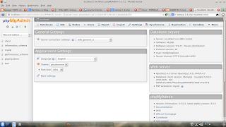 PHPMYADMIN  xampp 1.8