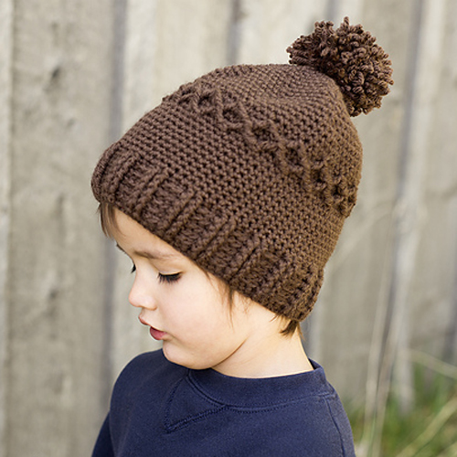 Slouchy Diamond Cap - Free Pattern