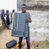 Young Man caught in the act, Stealing inside church paraded in Bayelsa(Photos)