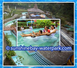 lazy river kolam arus waterpark