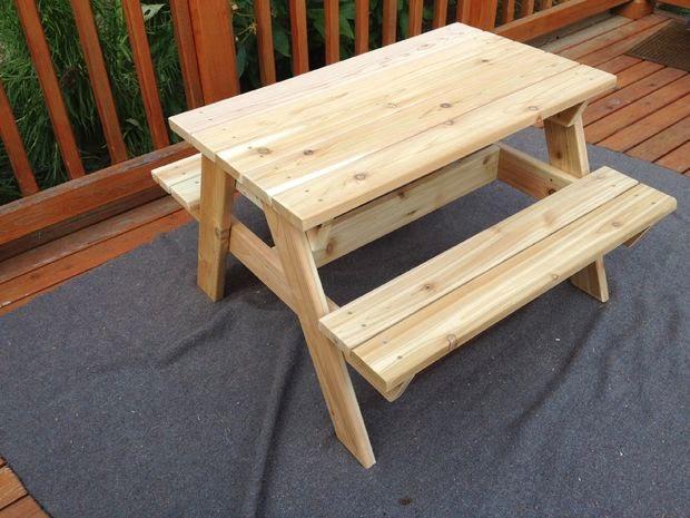 Astudioarchitect Artikel Ini Mengulas Tentang Bagaimana Cara Membuat Meja Kursi Piknik Untuk Anak Yang Dibuat Dari Kayu