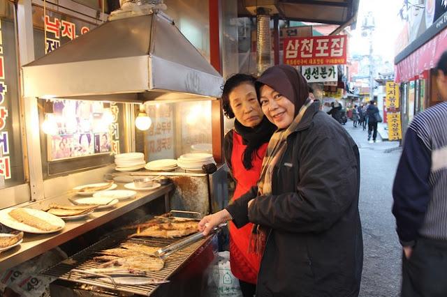 Ikan Bakar Dongdaemun Korea