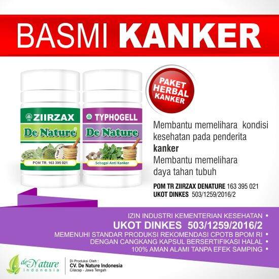 Obat Kanker Prostat Herbal de Nature | Alami Aman Ampuh