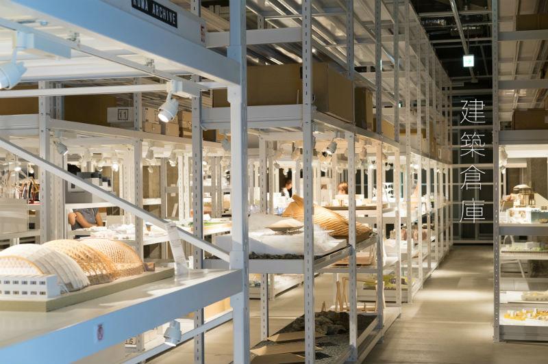 exposición de maquetas en archi-depot Tokio